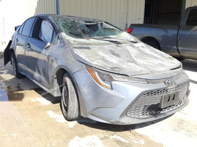Salvage cars for sale from Copart San Antonio, TX: 2020 Toyota Corolla LE