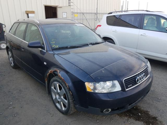 Salvage cars for sale from Copart Rocky View County, AB: 2003 Audi A4 3.0 AVA