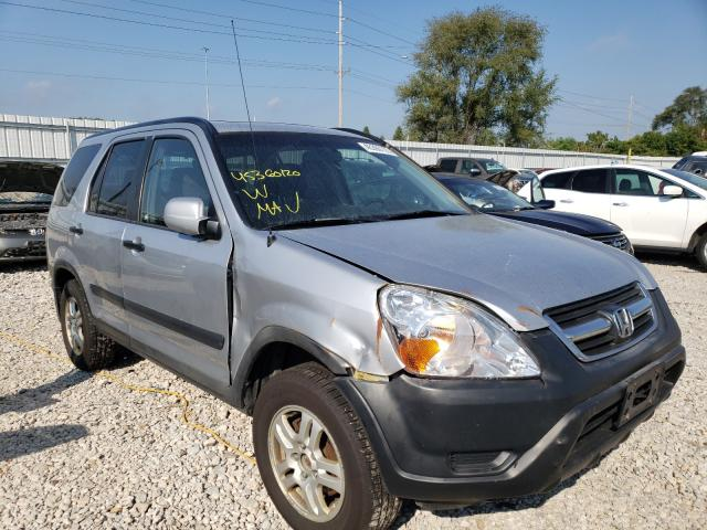 Salvage cars for sale from Copart Des Moines, IA: 2004 Honda CR-V EX