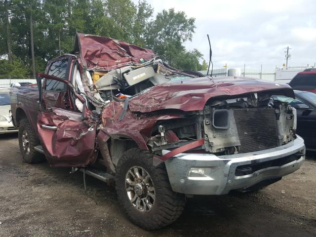 Salvage cars for sale at Harleyville, SC auction: 2018 Dodge 2500 Laram