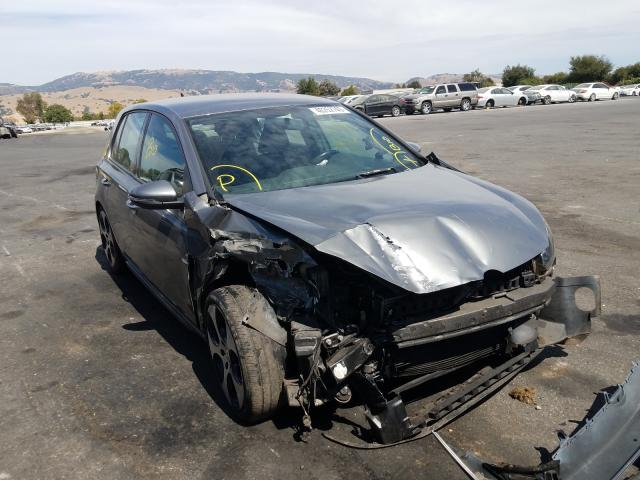 Salvage cars for sale from Copart San Martin, CA: 2011 Volkswagen GTI