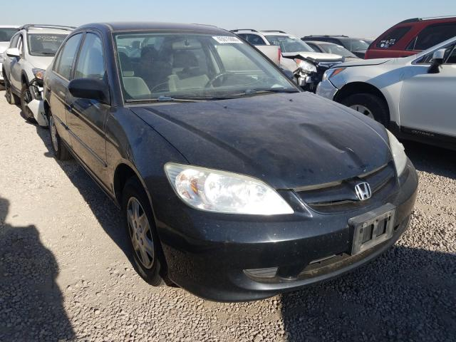 Vehiculos salvage en venta de Copart Brighton, CO: 2005 Honda Civic DX