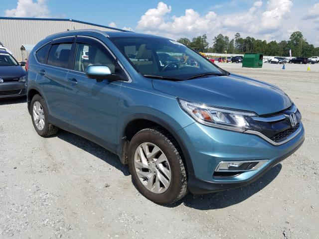 Salvage cars for sale from Copart Spartanburg, SC: 2016 Honda CR-V EXL