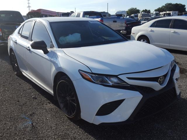 Salvage cars for sale from Copart Orlando, FL: 2020 Toyota Camry SE