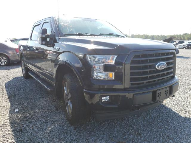 Salvage trucks for sale at Lumberton, NC auction: 2017 Ford F150 Super