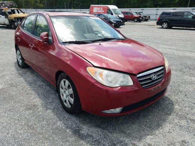 Salvage cars for sale from Copart Fredericksburg, VA: 2007 Hyundai Elantra GL
