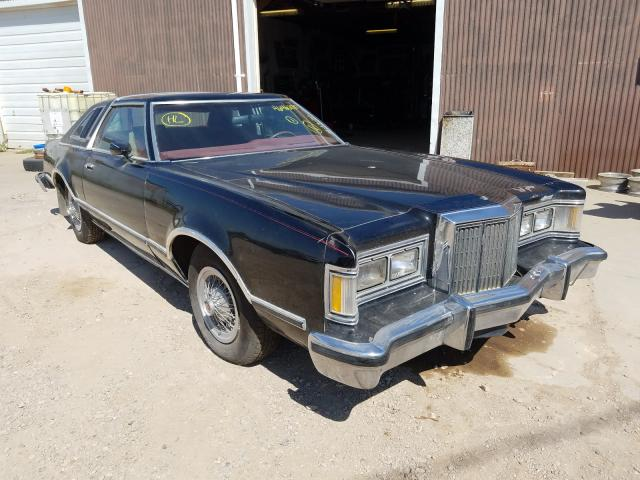 Mercury salvage cars for sale: 1979 Mercury Cougar XR7