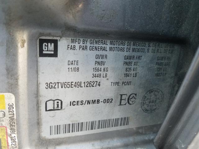 2009 PONTIAC G3 WAVE - 10