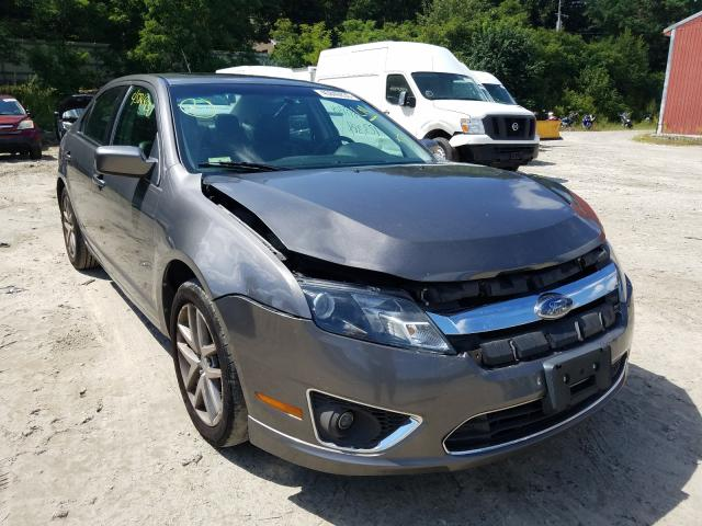 Salvage cars for sale from Copart Mendon, MA: 2010 Ford Fusion SEL