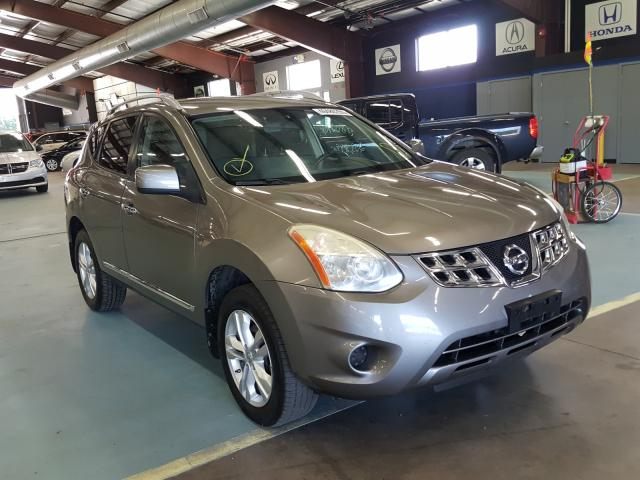 Salvage cars for sale from Copart East Granby, CT: 2013 Nissan Rogue S