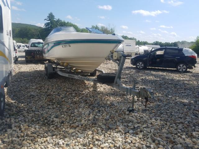 Salvage 1996 Rinker BOAT WITH TRAILER for sale