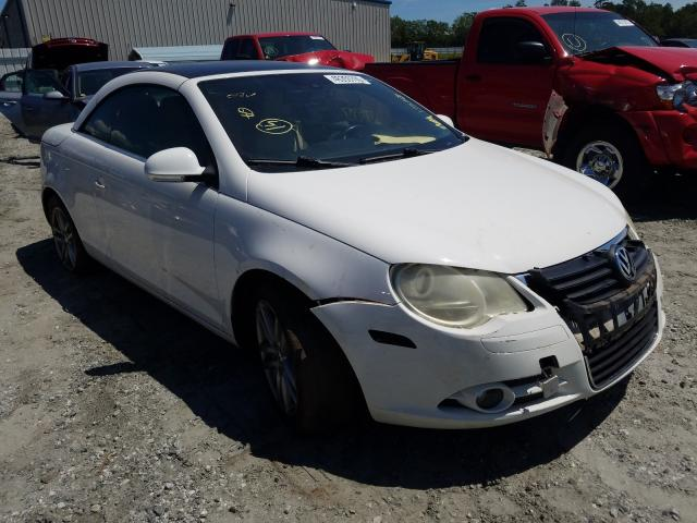 Volkswagen salvage cars for sale: 2008 Volkswagen EOS LUX