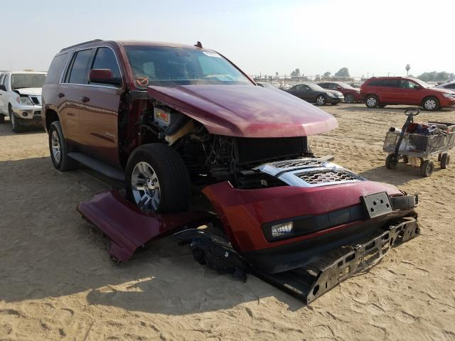 Chevrolet Tahoe C150 salvage cars for sale: 2016 Chevrolet Tahoe C150