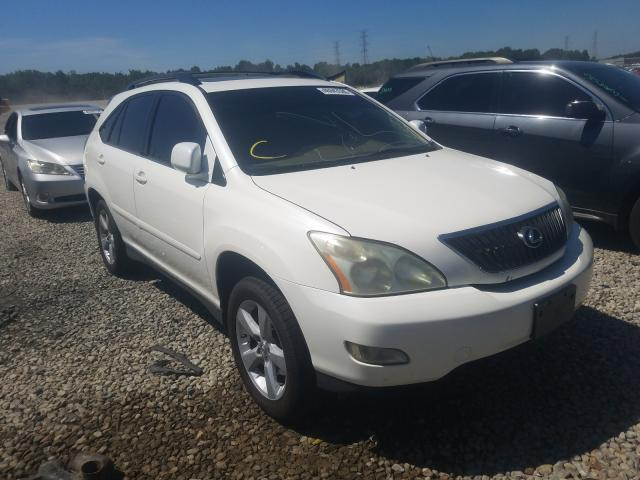Salvage cars for sale from Copart Memphis, TN: 2007 Lexus RX 350