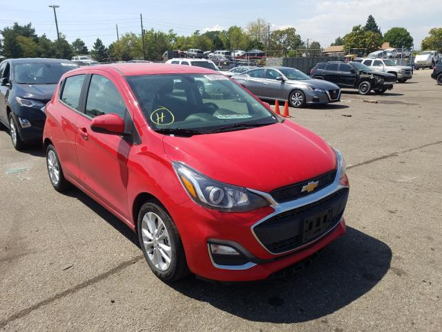 Salvage cars for sale from Copart Denver, CO: 2020 Chevrolet Spark 1LT
