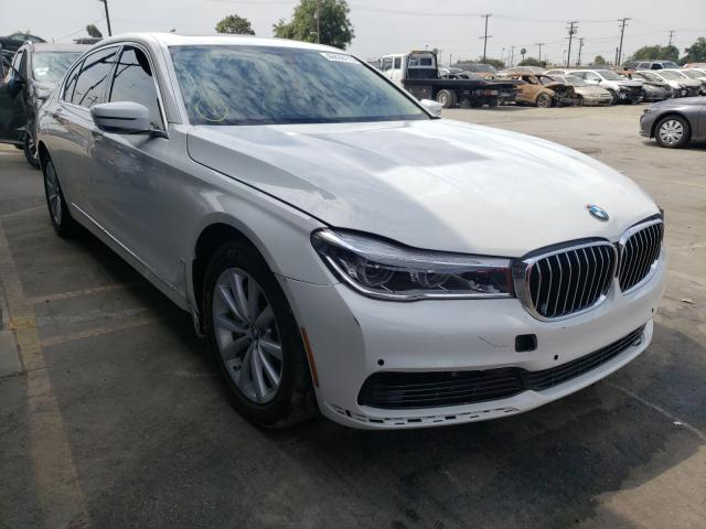 BMW salvage cars for sale: 2016 BMW 740 I