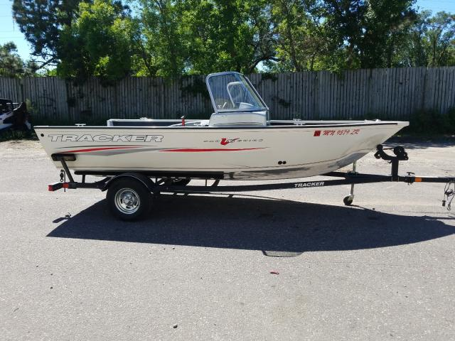 Salvage 2018 Tracker PGV16WT for sale