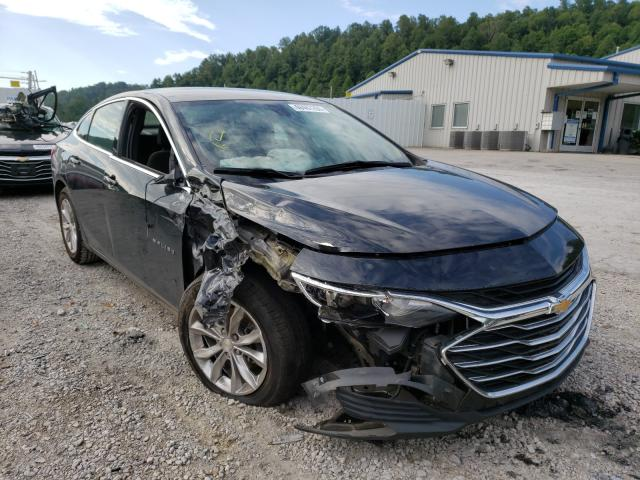 Salvage cars for sale from Copart Hurricane, WV: 2019 Chevrolet Malibu LT