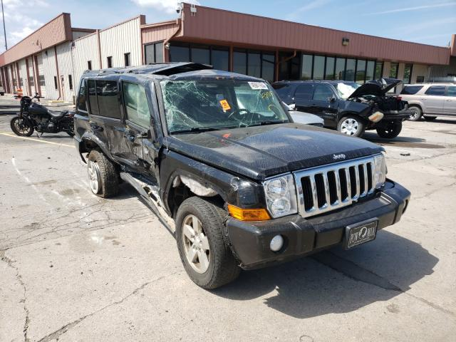 Salvage cars for sale from Copart Fort Wayne, IN: 2007 Jeep Commander