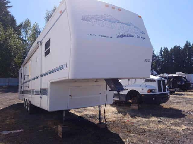 Keystone Travel Trailer salvage cars for sale: 1995 Keystone Travel Trailer