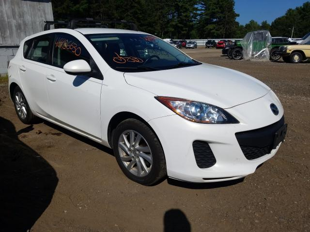 Salvage cars for sale from Copart Lyman, ME: 2012 Mazda 3 I