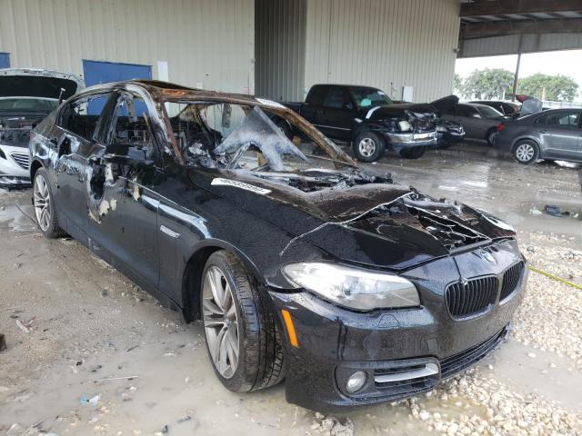 Salvage cars for sale from Copart Homestead, FL: 2016 BMW 528 I