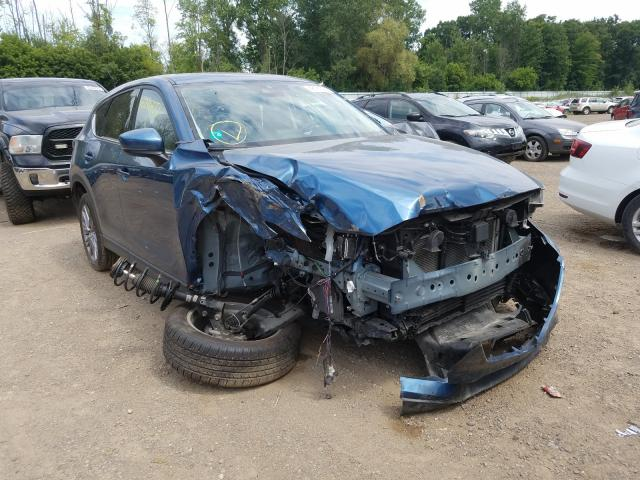 Mazda salvage cars for sale: 2019 Mazda CX-5 Grand Touring