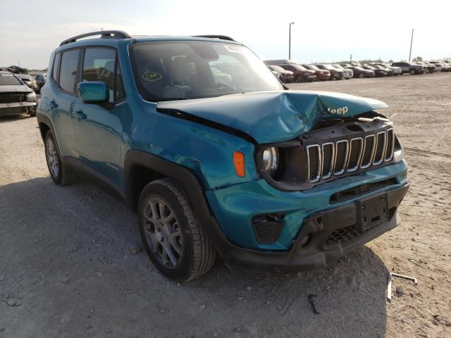 Salvage cars for sale from Copart Temple, TX: 2020 Jeep Renegade L