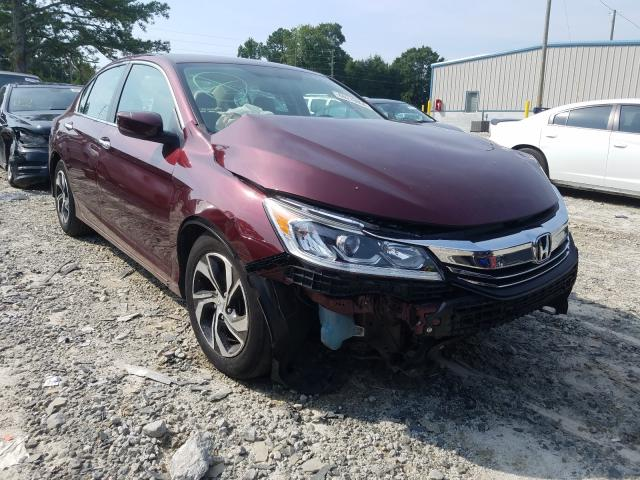 Honda Accord LX salvage cars for sale: 2016 Honda Accord LX