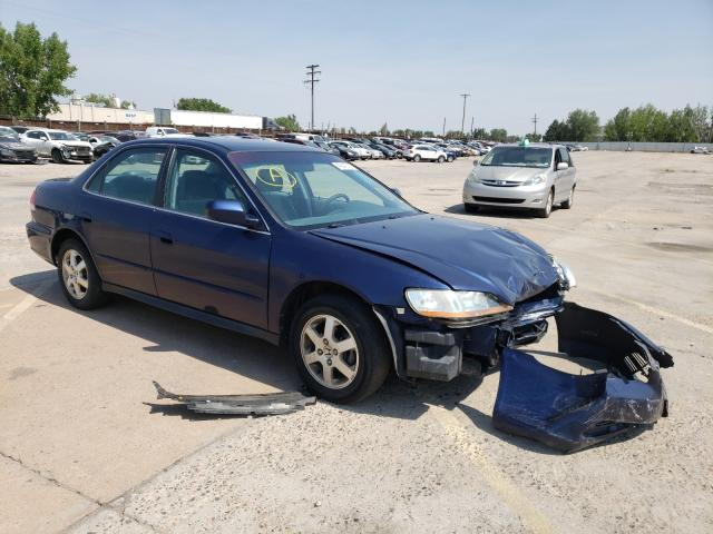 Honda Accord LX salvage cars for sale: 2002 Honda Accord LX