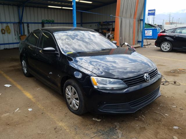 Salvage cars for sale from Copart Colorado Springs, CO: 2014 Volkswagen Jetta Base