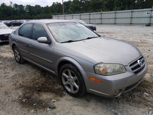 Nissan Maxima GLE salvage cars for sale: 2002 Nissan Maxima GLE