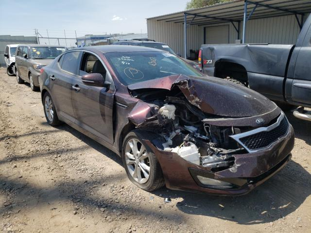Salvage cars for sale from Copart Albuquerque, NM: 2013 KIA Optima LX