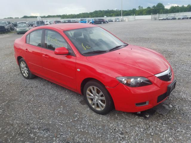 Salvage cars for sale from Copart Leroy, NY: 2008 Mazda 3 I
