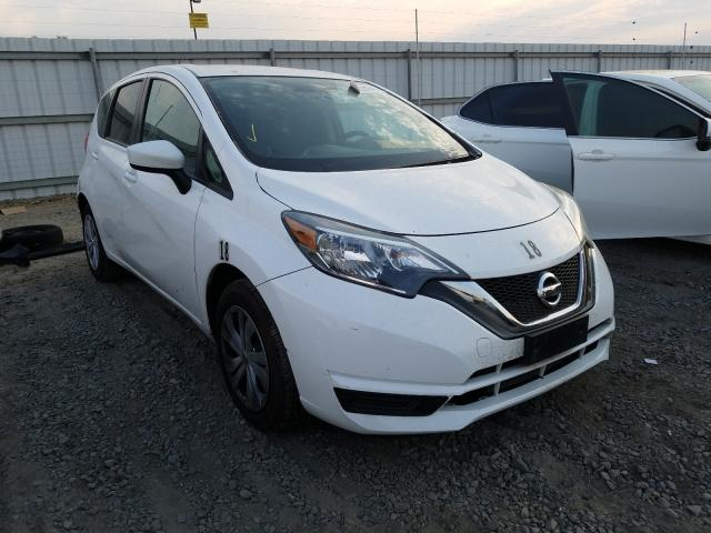 Nissan salvage cars for sale: 2017 Nissan Versa Note