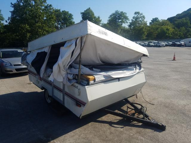 Rockwood salvage cars for sale: 1993 Rockwood Popup Cmpr