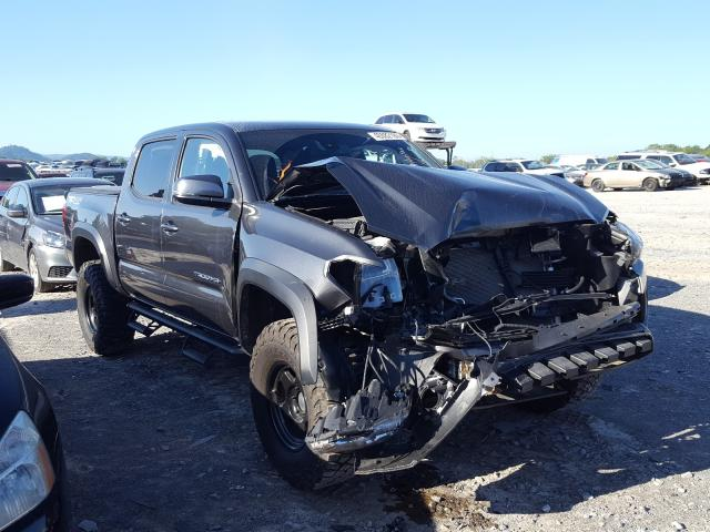 Salvage cars for sale at Madisonville, TN auction: 2018 Toyota Tacoma DOU