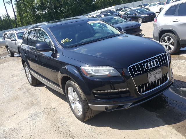 Salvage cars for sale from Copart Harleyville, SC: 2010 Audi Q7 Premium