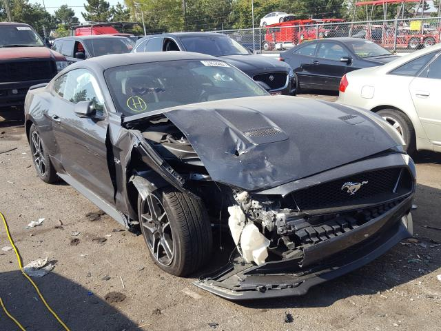 Salvage 2020 FORD MUSTANG - Small image. Lot 46392570