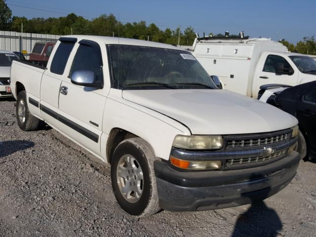 Salvage trucks for sale at Hueytown, AL auction: 2001 Chevrolet Silverado