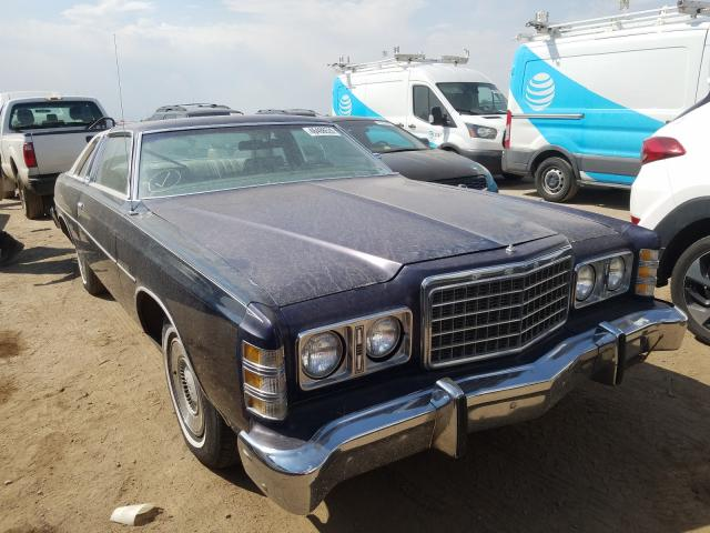 Ford LTD Vehiculos salvage en venta: 1977 Ford LTD
