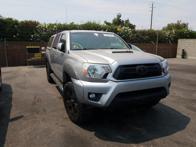 Salvage cars for sale from Copart San Martin, CA: 2014 Toyota Tacoma DOU