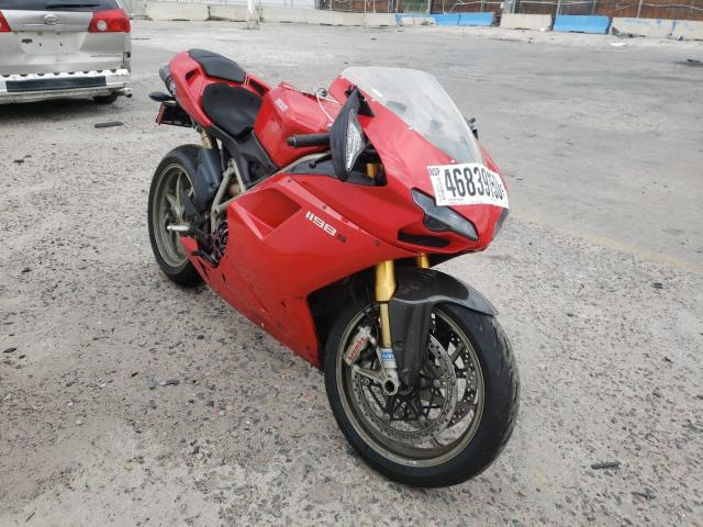 Ducati salvage cars for sale: 2009 Ducati 1198 Base