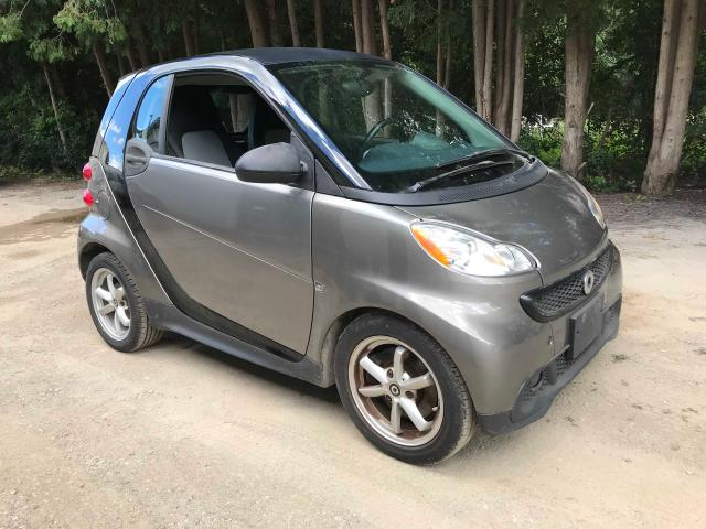 Smart salvage cars for sale: 2013 Smart Fortwo PUR