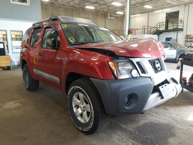 Salvage cars for sale from Copart Blaine, MN: 2011 Nissan Xterra OFF