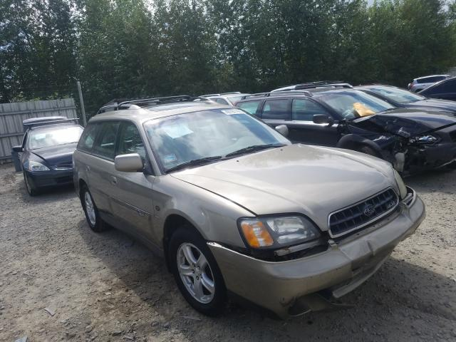 Salvage cars for sale from Copart Arlington, WA: 2004 Subaru Legacy Outback