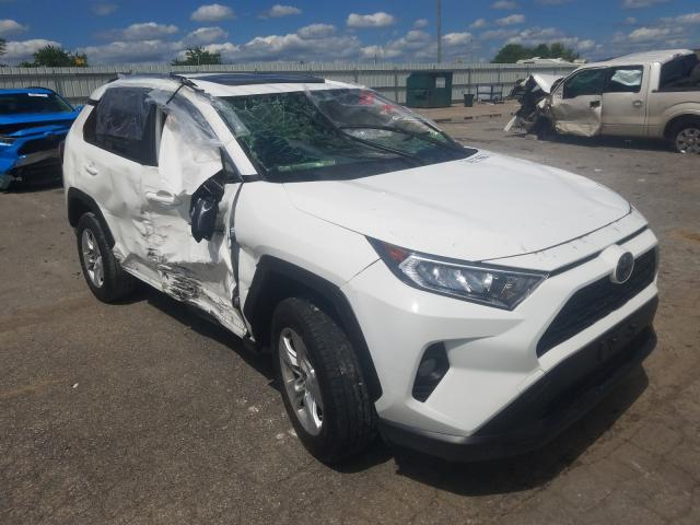 Salvage cars for sale from Copart Lexington, KY: 2019 Toyota Rav4 XLE