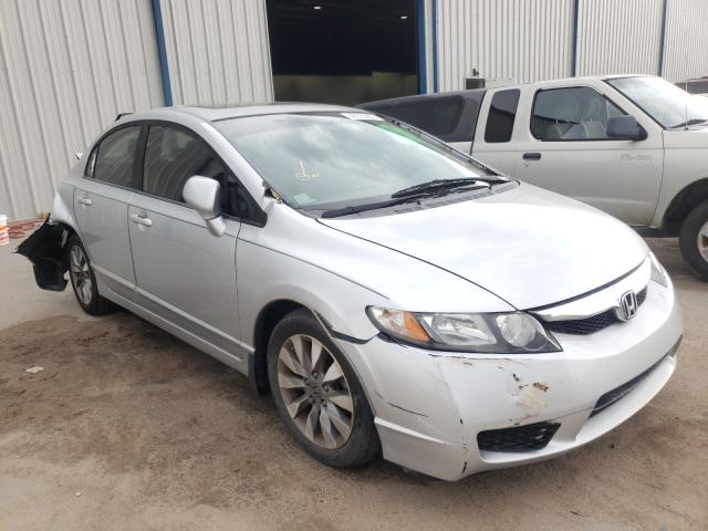 Salvage cars for sale from Copart Apopka, FL: 2009 Honda Civic EX