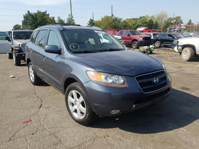 Hyundai salvage cars for sale: 2007 Hyundai Santa FE S