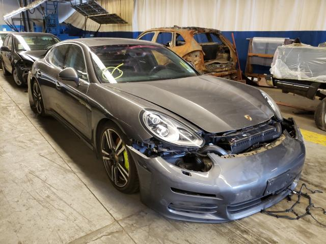 Salvage cars for sale from Copart Wheeling, IL: 2015 Porsche Panamera S